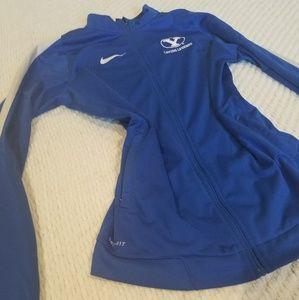Nike dri-fit zip up jacket